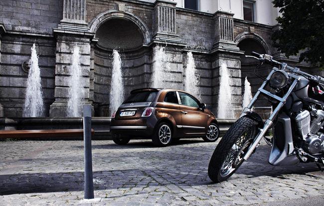 Test drive Fiat 500