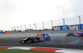 VIDEO: Vettel îl acuză pe Webber de provocarea accidentului din Turcia