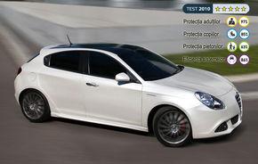 EuroNCAP: Alfa Giulietta este cea mai sigură compactă din istorie!