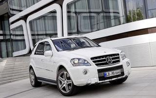 OFICIAL: Mercedes-Benz prezintă  ML 63 AMG facelift