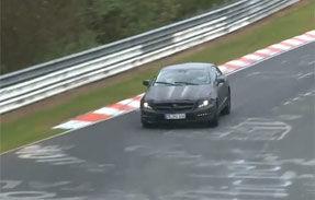 VIDEO: Mercedes testează viitorul CLS 63 AMG