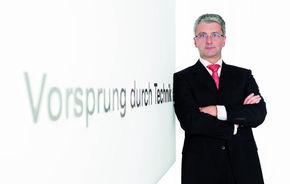 """Şeful Audi: """"Vom deveni producătorul premium numărul unu în lume"""""""