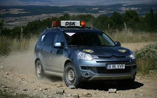 Citroen C-Crosser este maşina oficială a Raliului Sibiului