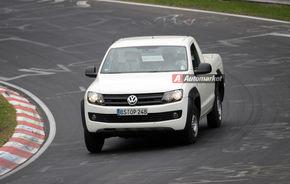 FOTO EXCLUSIV*: Volkswagen testează Amarok la Nurburgring