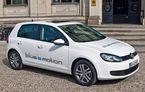 VIDEO: O plimbare alături de VW Golf Blue-e-motion
