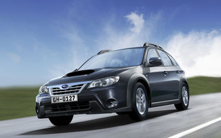 Subaru Impreza XV poate fi admirat în showroom-urile din Bucureşti