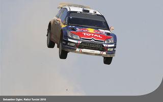 GALERIE FOTO: Cele mai spectaculoase sărituri în WRC cu Citroen C4