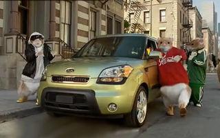 VIDEO: Hamsterii din reclama Kia Soul revin într-un nou spot