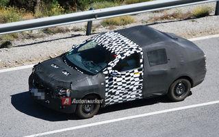 FOTO EXCLUSIV* : Chevrolet testează viitorul Aveo Sedan