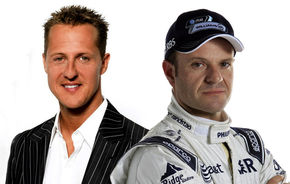 Barrichello îl acuză dur pe Schumacher, germanul îl ignoră pe brazilian