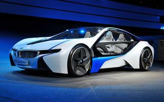 BMW i100 Coupe Active Hybrid - bavarezul care va lupta cu Audi e-tron