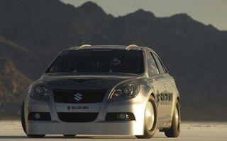Nou record de viteză pentru Suzuki Kizashi: 327.856 km/h