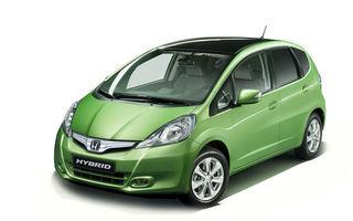 OFICIAL: Primele imagini cu Honda Jazz Hybrid