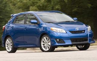 Toyota continuă recall-urile în SUA: 1.13 milioane de exemplare Corolla şi Corolla Matrix