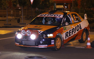 Ioan Andone a trăit experienţa Băneasa Rally Show alături de echipa Repsol Mitsubishi