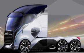 Porsche va dezvolta cabine de camion pentru Scania