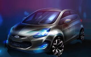 Hyundai vine cu un nou concept la Paris: MPV-ul ix20