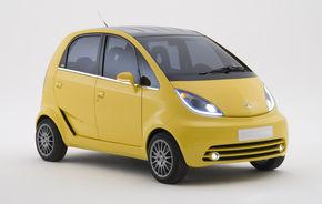 Tata Nano pentru Europa va avea ampatament mărit şi cutie automată