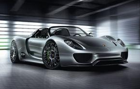 Conceptul 918 Spyder va fi expus în Muzeul Porsche