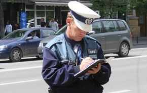 Poliţia Rutieră nu mai dă amenzi din 20 septembrie