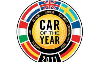 Maşina Anului 2011 în Europa şi-a anunţat lista completă de candidaţi