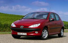 Peugeot va spune adio actualului 206 la sfârşitul anului viitor