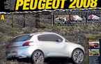 Noul Peugeot 2008, spionat în munţii francezi
