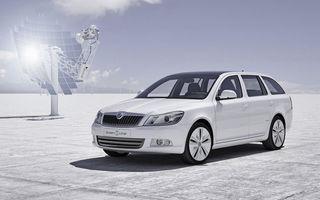 Primul vehicul electric de la Skoda: Octavia GreenEline