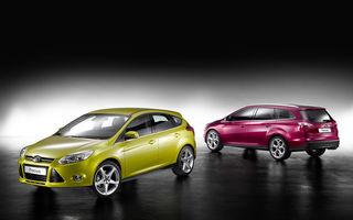 Paris 2010: Noile Ford Focus hatchback, sedan, ST şi break