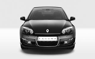 Renault Laguna facelift şi-a făcut debutul la Paris