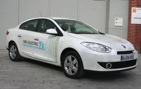 REPORTAJ: Test cu primele modele electrice Renault: Fluence ZE şi Kangoo ZE