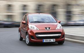 Peugeot 107: siguranţă de 4 stele doar pentru şoferii de maxim 78 de kg