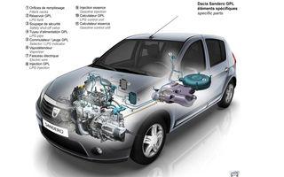 Dacia a produs 100.000 unităţi alimentate cu GPL