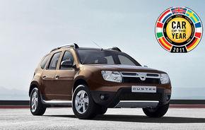 OFICIAL: Dacia Duster este în finala Car of the Year 2011
