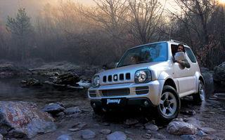 Suzuki Jimny a primit un motor Euro 5