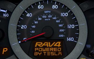 Primele imagini care anunţă noul Toyota RAV4 electric