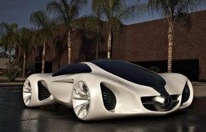 "Mercedes Biome, ""fantezie pură"" la Salonul de la L.A."