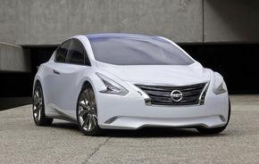 OFICIAL: Ellure Concept, sedanul cu patru uşi în viziunea Nissan