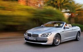 OFICIAL: BMW Seria 6 Cabrio - informaţii şi imagini complete