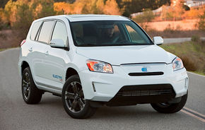Toyota RAV4 EV Concept anticipează primul SUV 100% electric
