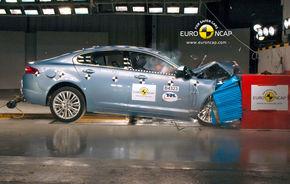 Jaguar XF a primit doar 4 stele EuroNCAP, oficialii mărcii promit că remediază problemele