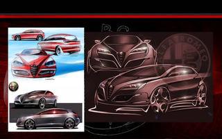 Vezi cum ar fi putut arăta Alfa Romeo Giulietta!