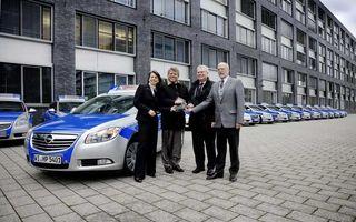 Poliţia germană a achiziţionat 800 de exemplare Opel Insignia