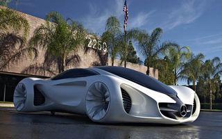 Mercedes Biome ar putea deveni rivalul lui BMW Vision Efficient Dynamics