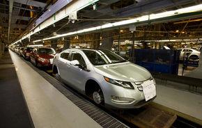 Chevrolet a început producţia lui Volt