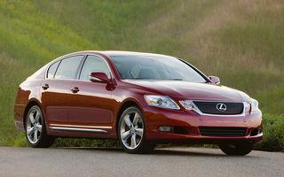 Lexus vrea să îl transforme pe viitorul GS-F într-un sportiv de top