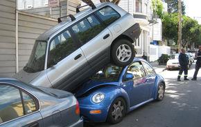 STUDIU: SUV-urile au spoilerele prea înalte în comparaţie cu maşinile mici