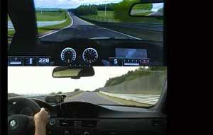 VIDEO: Realitatea de la Nurburgring vs lumea virtuală din GT5