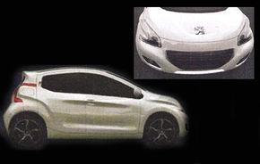 Acesta va fi noul model de oraş Peugeot: 108 sau 101?