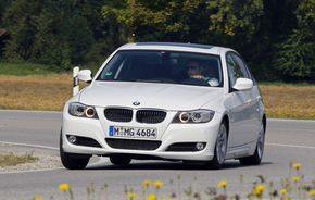 BMW 320d Touring Efficient Dynamics promite 4.3 litri/100km